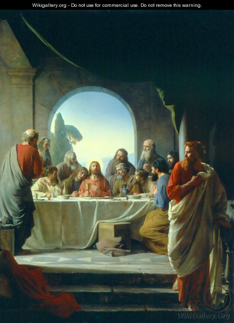 The Last Supper - Carl Heinrich Bloch