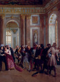 Jean Bart In The Galerie Des Glaces At Versailles - Gaston-Theodore Melingue