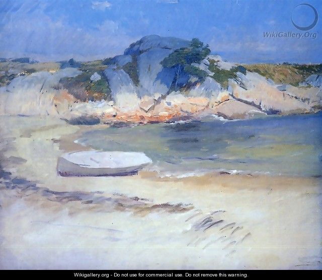 Sheltered Cove - Frank Duveneck