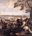 The Crossing of the Rhine by the Army of Louis XIV, 1672 - Joseph Parrocel