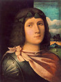 Portrait of a Young Man - Jacopo d'Antonio Negretti (see Palma Vecchio)