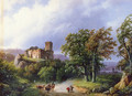 The Ruined Castle - Barend Cornelis Koekkoek