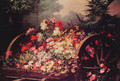 A Cart of Flowers - Desire de Keghel