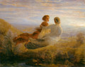 Le Poème de l'âme - Le Vol de l'âme (The Poem of the Soul - The Soul's Flight) - Anne-Francois-Louis Janmot