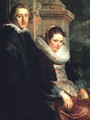 Portrait of a Young Married Couple - Jacob Jordaens