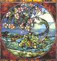 Fish and Flowering Branch - John La Farge
