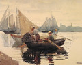 The Lobster Pot - Winslow Homer
