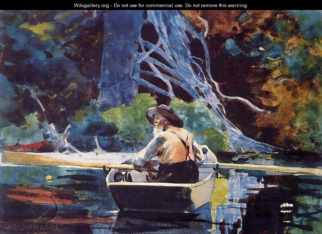 The Adirondack Guide - Winslow Homer