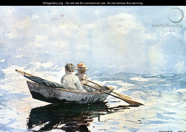 Rowboat - Winslow Homer