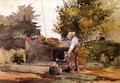 At the Well - Winslow Homer
