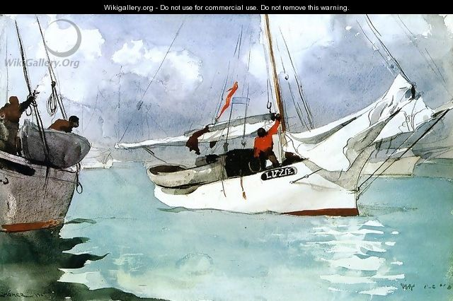 Fishing Boats, Key West - Winslow Homer