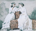 Two Ladies - Winslow Homer