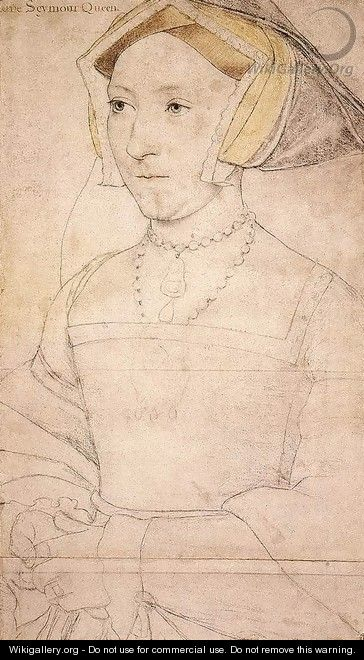 Portrait of Jane Seymour - Hans, the Younger Holbein