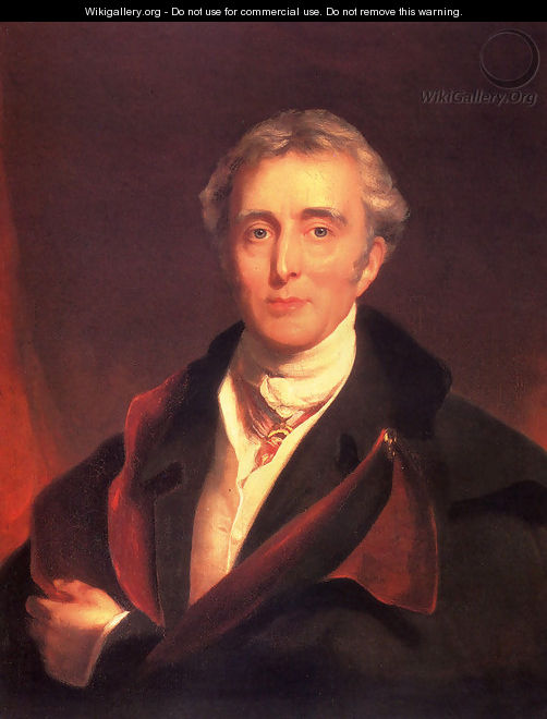 Portrait Of The Duke Of Wellington - Sir Thomas Lawrence