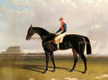 Lord Chesterfield's Industry with William Scott up at Epsom - John Frederick Herring Snr