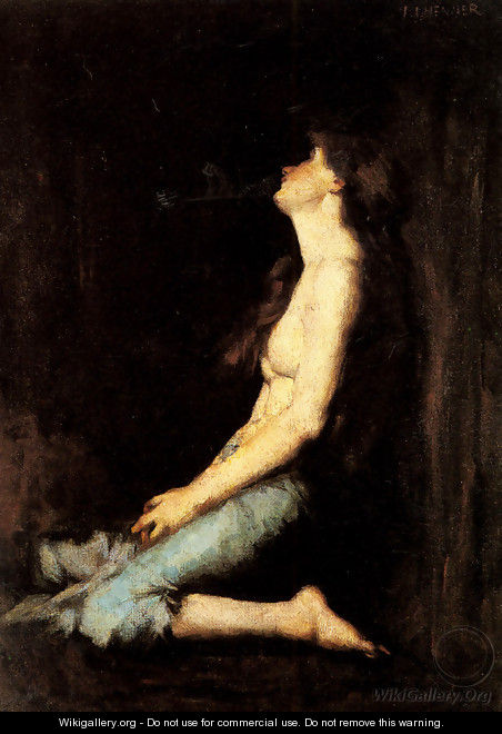 Solitude - Jean-Jacques Henner