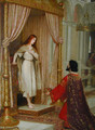 The King and the Beggar-maid - Edmund Blair Blair Leighton