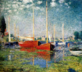 The Red Boats, Argenteuil - Claude Oscar Monet