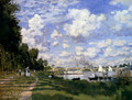 The Marina At Argenteuil - Claude Oscar Monet