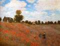Wild Poppies, Near Argenteuil - Claude Oscar Monet