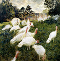 The Turkeys - Claude Oscar Monet