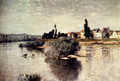 The Seine At Lavacourt - Claude Oscar Monet