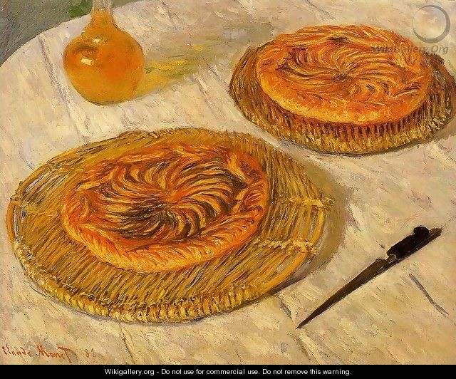 "The ""Galettes"" - Claude Oscar Monet"