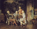 The Chess Players - Johann Hamza