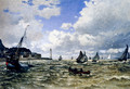 The Seine Estuary At Honfleur - Claude Oscar Monet