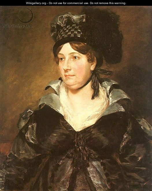 Mrs. James Pulham, Sr. (or Frances Amys) - John Constable