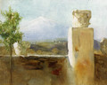 Mount Etna From Taormina - Arthur Hacker