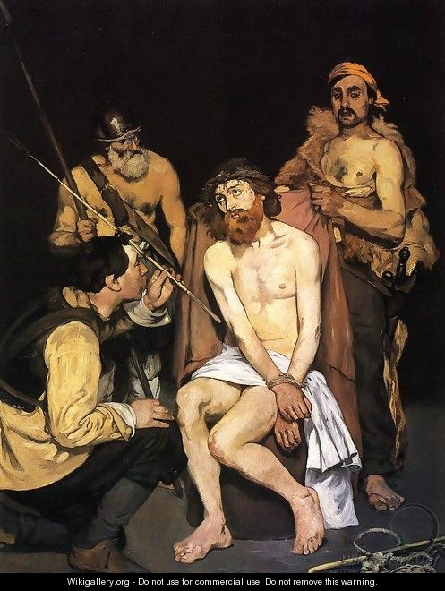Jesus Mocked by the Soldiers - Edouard Manet