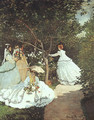 The women in the Garden - Claude Oscar Monet