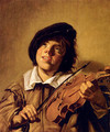 Boy Playing A Violin - Frans Hals