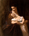Maternal Affection - Hugues Merle