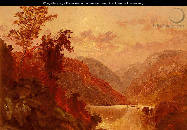 In The Highlands Of The Hudson - Jasper Francis Cropsey