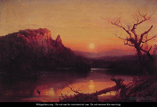Sunset, Eagle Cliff, New Hampshire - Jasper Francis Cropsey