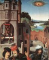 St John Altarpiece [detail: 3, left wing] - Hans Memling