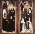 St John Altarpiece [detail: 10, closed] - Hans Memling