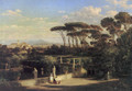 A view of Rome - Friedrich Mayer
