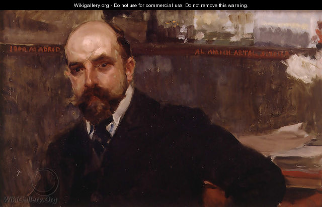 Conde de Artal (The Count of Artal) - Joaquin Sorolla y Bastida