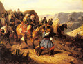 Returning from Battle - Joseph-Louis Hippolyte Bellange