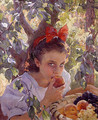 Comiendo fruta (Eating fruit) - Pons Arnau Francisco