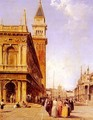 St Mark's Square, Venice - Edward Pritchett