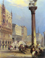 St. Marks and the Doges Palace, Venice - Edward Pritchett