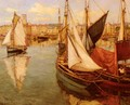 Dans Le Port De La Rochelle (In the Port of La Rochelle) - Georges Charpentier