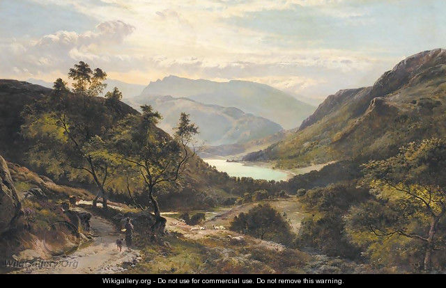 Scottish Highlands - Sidney Richard Percy