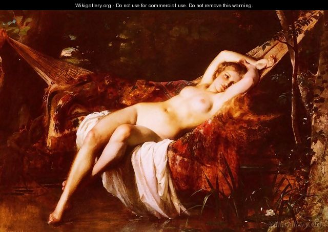 La Baigneuse (The Bather) - Leon-Jean-Basile Perrault