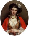 An Oriental Beauty - Jean-Francois Portaels