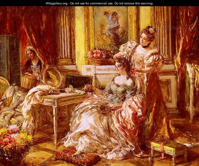 Preparing for the Ball - Eduardo León Garrido